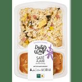 Daily Chef Nasi + sate ajam