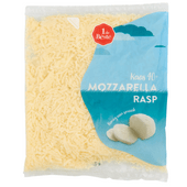 1 de Beste Mozzarella 40+ rasp