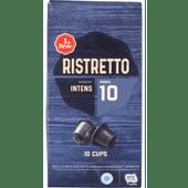 1 de Beste Koffiecups ristretto sterkte 10