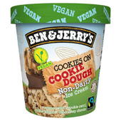 Ben & Jerry's Cookies on cookie dough non dairy