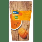Bio+ Soep in zak pompoen