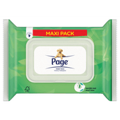 Page Vochtig toiletpapier aloe vera maxi pack
