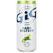 GiG Hard seltzer lime rhythm