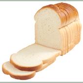 Vers Bakkers melk wit half gesneden
