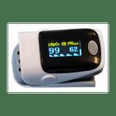Vingertop pulse oximeter