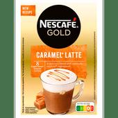 Nescafé Oploskoffie caramel latte 8 koppen