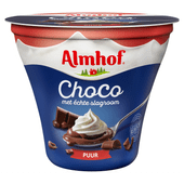 Almhof Choco met slagroom puur