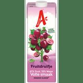 Appelsientje Fruitdruifje minder fruitsuiker