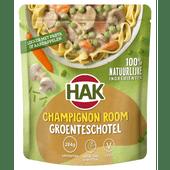 Hak Groenteschotel champignon room