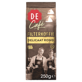 Douwe Egberts Café Delicaat rond filterkoffie
