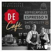 Douwe Egberts Café Espresso 9 koffiecups espresso sterkte 9