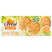 Céréal Sesamkoekjes met vanillesmaak