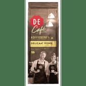 Douwe Egberts Café Delicaat rond koffiebonen