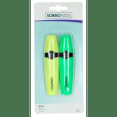 Sorbo Memo marker geel en groen