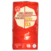 1 de Beste Filterkoffie roodmerk