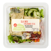 1 de Beste Salade Italiaanse mix met regato kaas & kruidendressing