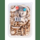 1 de Beste Kastanje champignons gesneden
