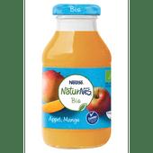 Nestle Naturnes bio fruitsap appel-mango