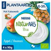 Nestle Naturnes bio toetje appel-ananas