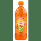 Slimpie Limonadesiroop sinaasappel framboos suikervrij