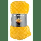 Fleece woonplaid 150 x 200cm