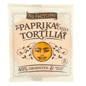 No Fairytales Tortilla paprika-chili