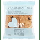 Bio Today Rozijn cranberrykoeken