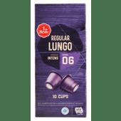 1 de Beste Koffiecups lungo sterkte 6