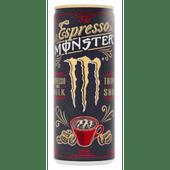 Monster Energydrink koffie espresso milk