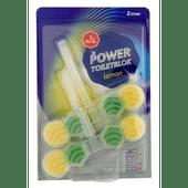 1 de Beste Toiletblok power lemon
