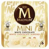 Ola Magnum mini white & white almond 6 stuks
