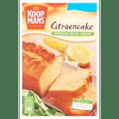 Koopmans Mix voor citroencake