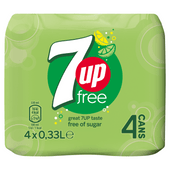 7UP Free 4x33 cl