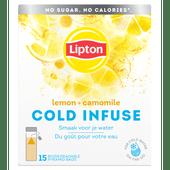 Lipton Cold infuse lemon-chamomile