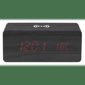Soundlogic Wekker met draadloze telefoonoplader