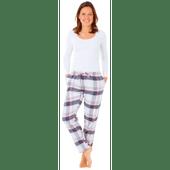 Dames of heren pyjama broek