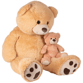 XXXL pluchen teddybeer