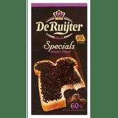 De Ruijter Chocoladehagel special intens puur 60%