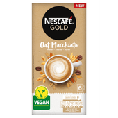 Nescafé Oploskoffie gold oat macchiato