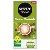 Nescafé Oploskoffie gold almond macchiato