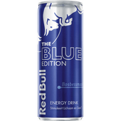 Red Bull Energydrink blue edition