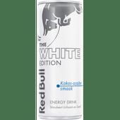 Red Bull Energydrink white edition kokos-acaibes