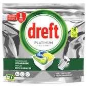Dreft Vaatwastabletten platinum lemon