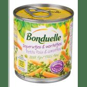 Bonduelle Doperwtjes & worteltjes extra fijn