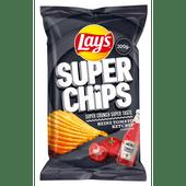 Lay's Superchips heinz tomoto ketchup