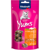 Vitakraft Kattenvoer yums kip-kattengras