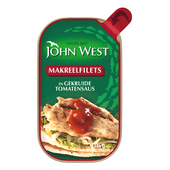 John West Makreelfilet in tomatensaus