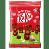 Nestlé Kitkat chocolade mini paashazen