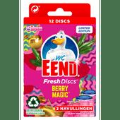 WC-EEND Fresh discs navul berry magic 2 stuks