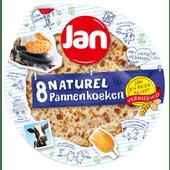 Jan Pannenkoeken naturel 8 stuks